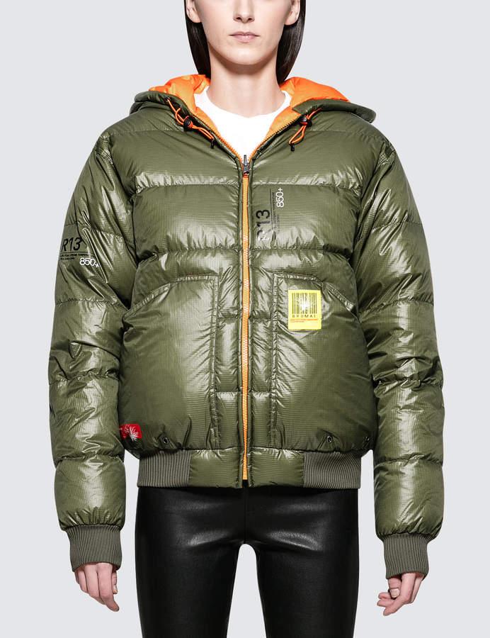 Reversible Puffer Down Jacket