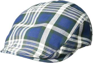 Bailey Of Hollywood Men's Mastron Checked Ivy Cap
