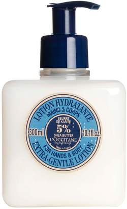L'Occitane Shea Butter Extra Gentle Hand & BodyLotion 10.1 oz