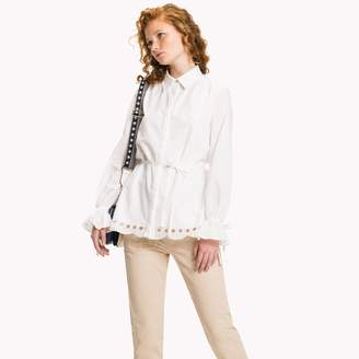 Tommy Hilfiger Lace Lined Blouse