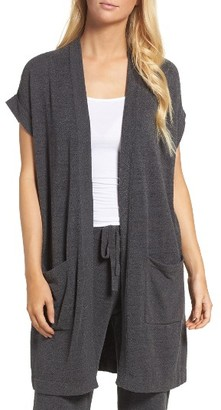 Women's Barefoot Dreams Cozychic Ultra Lite Lounge Cardigan $108 thestylecure.com