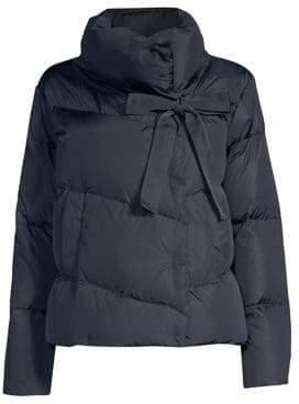 Max Mara Cariddi Puffer Bow Coat