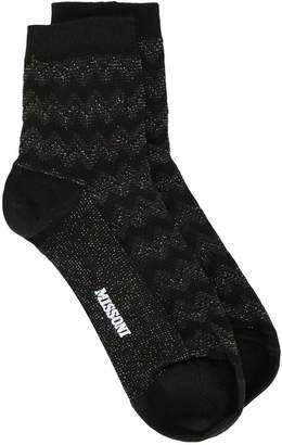 Missoni geometric pattern socks