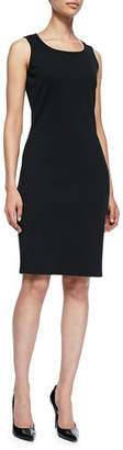 St. John Sleeveless Mid-Length Dress