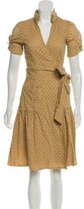 Diane von Furstenberg Bellette Eyelet Dress