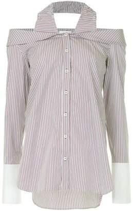 Monographie classic off-shoulder shirt blouse