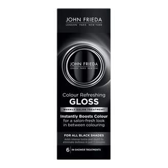 John Frieda Colour Refreshing Gloss For All Black Shades 177 mL
