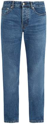 Ami Mid-rise straight-leg jeans