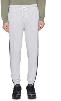 The Upside 'New Track City' zip cuff stripe outseam jogging pants