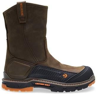 """Wolverine Men's Overpass 10"""" Composite Toe Waterproof Work Boot"""