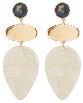BaubleBar Fareena Resin Drop Earrings
