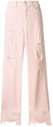 Dondup front-slit maxi skirt