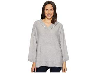 Vince Camuto Dolman Sleeve Relaxed Hooded Sweater Women's Sweater