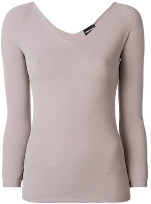 Giorgio Armani scoop neck sweater