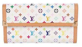Louis Vuitton Multicolore Porte Tresor International Wallet