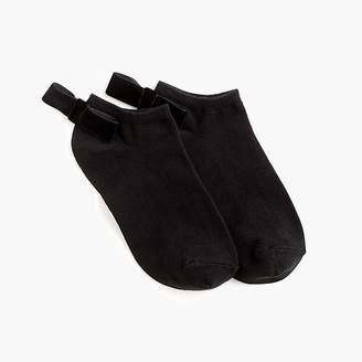 J.Crew Ankle socks with back velvet bow