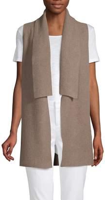 Saks Fifth Avenue Cashmere Rib-Knit Cashmere Cardigan