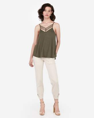 Express One Eleven Strappy V-Neck Cami