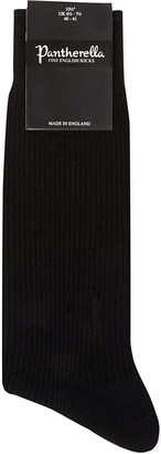 Pantherella Short wool-blend ribbed socks $17.50 thestylecure.com