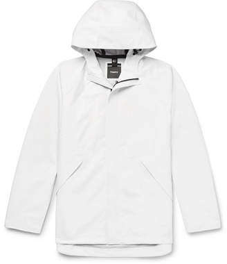 Theory Mitchell Shell Hooded Jacket - White