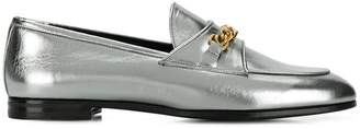 Tom Ford Laminated chain loafers