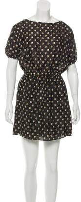 Band Of Outsiders Agnes Silk Dress