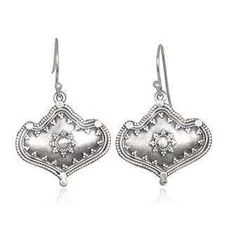 Satya Jewelry Women's Ornamented Drop Earrings