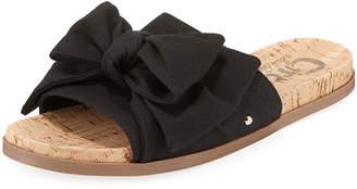 Sam Edelman Ninette Flat Fabric Bow Sandal
