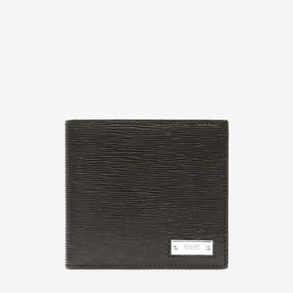 Bally Brasai Black, Men's calf leather wallet in black