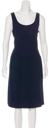 Ralph Lauren Black Label Sleeveless Midi Dress