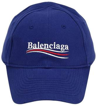 Balenciaga Politically Correct Canvas Baseball Hat