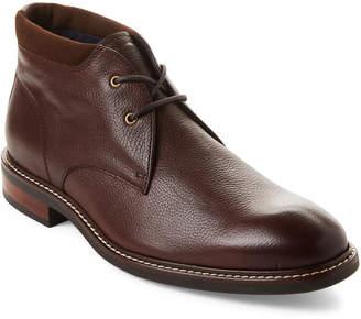 Cole Haan Mahogany Watson Leather Chukka Boots