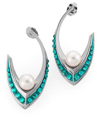 Swarovski Pierced Earrings, by Nicholas Kirkwood