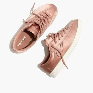 Madewell x Tretorn Nylite Plus Sneakers in Satin