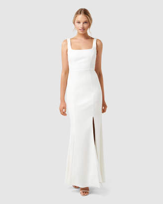 Forever New Carmel Square Neck Gown