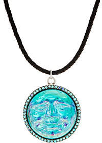 Kirks Folly Seaview Water Moon Cord Necklace