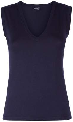 La Perla New Silk Soul Bi-Stretch Silk Knit Vest Top