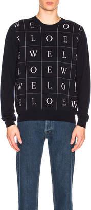 Loewe Letters Sweater