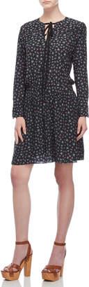 Zadig & Voltaire Remus Liberty Floral Long Sleeve Drop Waist Dress