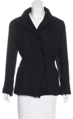 Lanvin Tweed Structured Blazer