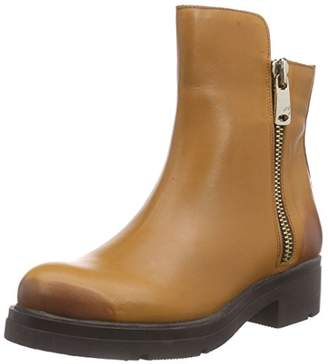 Inuovo Women's FOSHEEZY Cold Lined Classic Boots Half Length Brown Size: