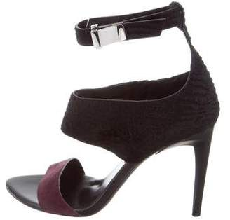 Proenza Schouler Calf Hair Sandals w/ Tags