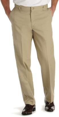 Lee Big & Tall Total Freedom Classic-Fit Stain Resist Flat-Front Pants