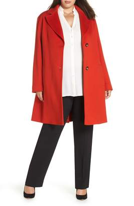 Fleurette Loro Piana Wool Long Coat