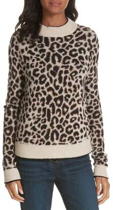 Veronica Beard Marly Alpaca & Wool Blend Sweater