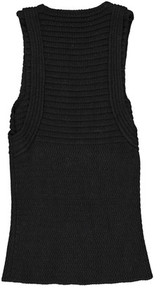Neil Barrett Black Wool Dresses