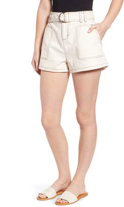 BP Belted High Waist Shorts