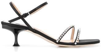 Sergio Rossi Sr Milano Diamonds sandals