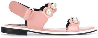 Suecomma Bonnie Pearl ornament sandals