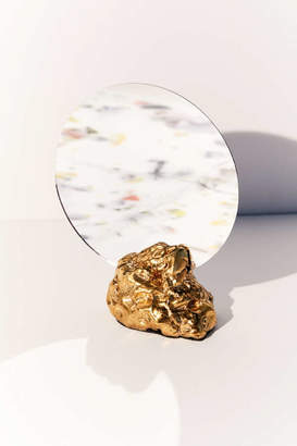 Roper Dean For UO 18k Gold Luster Tabletop Mirror